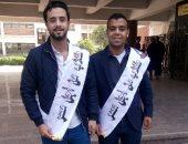 """""""علاء دردير"""" رئيسا لاتحاد طلاب جامعة المنيا و""""محمد رجب"""" نائبا له"""