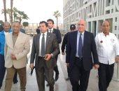 وزير الرياضة يصل الأقصر للمشاركة فى مسيرة للمشى بمشاركة 900 شاب