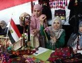 فيديو.. افتتاح معرض منتجات أسر سيناء بمركز شباب العريش