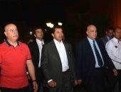 صور.. وزير الشباب والرياضة يشارك فى مسيرة مشى بمحافظة الأقصر