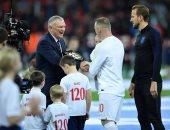 فيديو وصور.. تكريم رونى قبل انطلاق مواجهة إنجلترا ضد الولايات المتحدة