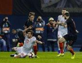 شوط أول سلبى بين إسبانيا وكرواتيا فى دوري الأمم الأوروبية