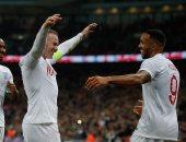 إنجلترا تسحق الولايات المتحدة بثلاثية وديا فى ليلة تكريم رونى.. فيديو
