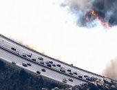 """""""جحيم كاليفورنيا"""".. حرائق الغابات تصل إلى أكبر الطرق السريعة فى الولاية"""