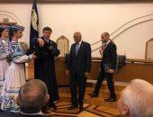 جامعة بيلاروس تمنح رئيس النواب لقب أستاذ فخرى.. وعبد العال يستعرض الإنجازات