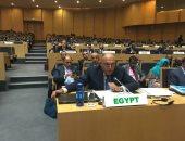 سامح شكرى يشارك بجلسة اعتماد مقررات الاجتماعات التمهيدية للقمة الأفريقية الاستثنائية