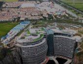شاهد.. الصين تفتتح أول فندق تحت الأرض