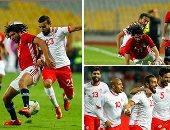 بلدغة محمد صلاح.. منتخب الفراعنة يفوز على نسور قرطاج 3 ـ 2 بتصفيات أمم أفريقيا