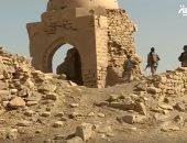 """الحوثيون يجرفون التاريخ فى اليمن """"فيديو"""""""
