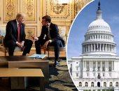 """مسلسل تدهور """"العلاقات الفرنسية- الأمريكية"""" عرض مستمر.. ماكرون يشدد لهجته ويطالب ترامب باحترام بلاده.. ويؤكد: فرنسا ليست تابعة لأمريكا.. ويدافع عن فكرة الجيش الأوروبى لخفض الاعتماد على واشنطن"""