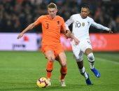 هولندا تتفوق على فرنسا بهدف فاينالدوم فى الشوط الأول.. فيديو