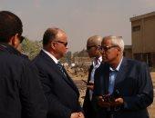 جولة مفاجئة لمحافظ القاهرة بحى السلام ويوجه بتكثيف حملات النظافة