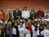 """وزير الشباب يشهد فعاليات مشروع """"ألف فتاة ألف حلم"""" بالأقصر"""