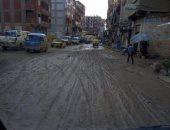 شكوى من سوء حالة شوارع المراغى بالإسكندرية.. والأهالى: أبناؤنا فى خطر