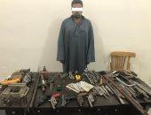 الأمن العام يضبط ورشة لتصنيع السلاح فى سوهاج
