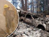 شاهد ما خلفته حرائق غابات كاليفورنيا × 150 ثانية
