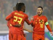 هازارد يقود بلجيكا ضد أسكتلندا فى تصفيات يورو 2020