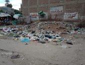شكوى من انتشار القمامة فى شارع الخليج بمدينة فاقوس بالشرقية
