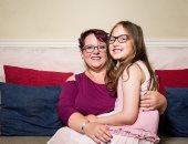 """هتوحشنى الرضاعة.. أم إنجليزية تفطم ابنتها بعد 9 سنوات """"صور"""""""