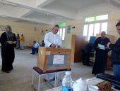 صور.. إقبال كبير على الانتخابات بمركز شباب محمد صلاح لاختيار مجلس إدارة