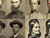 استخدام تقنية التعرف على الوجه لتحديد هوية جنود الحرب الأهلية الأمريكية