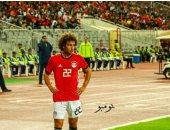 قاتل من أجل بلدك.. بهذه الكلمات عمرو وردة يحتفل بفوز الفراعنة على نسور قرطاج