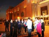 بمناسبة عيد افتتاحه لـ 116 .. وزير الآثار : دخول الزوار المتحف المصرى غدا مجانا