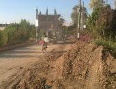 أهالى قرية الحلة بقنا يناشدون وزارة البترول بتوصيل الغاز لمنازلهم