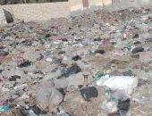 أهالى قرية بمركز إيتاى البارود بمحافظه البحيرة يشكون انتشار القمامة بالشوارع