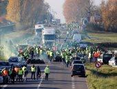 صور.. السائقون فى فرنسا يتظاهرون احتجاجا على ارتفاع أسعار الوقود