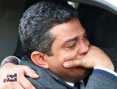 شقيق ساطع النعمانى: أشكر الرئيس والداخلية على سرعة نقل جثمان الشهيد للقاهرة