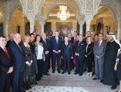 """الرئيس التونسى للوفد المصرى: """"مصر أم الدنيا"""""""