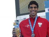 محمد العيسوى يحرز ذهبية وفضية فى بطولة العالم للجامعات للسباحة