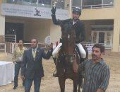 محمد طلعت يقتنص بطولة الجائزة الكبرى للفروسية