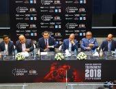 صور.. وزير الرياضة يحضر مباريات بطولة بلاك بول المفتوحة للإسكواش