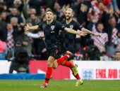 كراماريتش يذل دفاع إنجلترا ويسجل هدف كرواتيا الأول.. فيديو