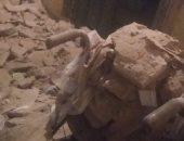 صور.. سقوط ثلاثة أسقف من عقار فى منطقة باكوس بالإسكندرية دون إصابات