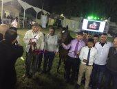 نائب وزير الزراعة: محطة الزهراء معقل الحصان العربى المصرى الأصيل من القرن الماضى