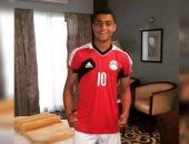 مصطفى محمد مهاجم المنتخب الأولمبى يدخل حسابات أجيرى
