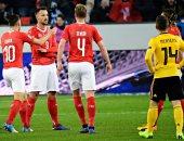 سويسرا تكتسح بلجيكا بخماسية وتتأهل لنصف نهائي دورى الأمم الأوروبية.. فيديو