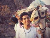 شاهد آخر رسالة من الرحالة محمود الجمل لصديقه قبل وفاته.. صور
