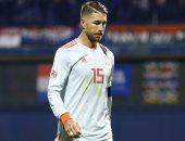 المجد ينتظر راموس فى مباراة النرويج ضد إسبانيا بتصفيات يورو 2020