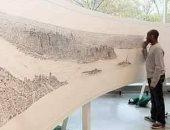 قصة صورة.. فنان مصاب بالتوحد يرسم لوحة لمدينة نيويورك بعد جولة 20 دقيقة