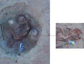 ننشر أول صورة  لمومياء المرأة الحامل المكتشفة مؤخرا فى أسوان