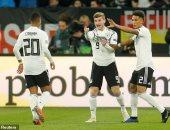 ألمانيا تحرج هولندا بثنائية فى الشوط الأول بدورى الأمم الأوروبية.. فيديو