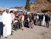 صور .. وفد تلفزيون CBS الأمريكى يزور المعالم السياحية بجنوب سيناء