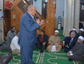 محافظ الوادى الجديد يشهد الاحتفال بذكرى المولد النبوى بمسجد ناصر بالخارجة