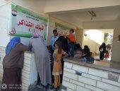 صحة الوادى الجديد تدشن قافلة طبية مجانية لأهالى قرية أبو منقار بالفرافرة