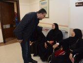 صور.. عمرو الليثى ورامى رضوان ومنى عبد الغنى وإعلاميين ومتبرعين يزورون مستشفى علاج الأورام بالأقصر