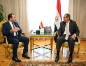 عمرو طلعت يلتقى رئيس لجنة الاتصالات بمجلس النواب